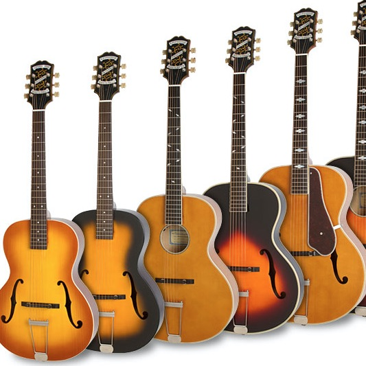 Rediscover the Masterbilt Century Archtop Collection