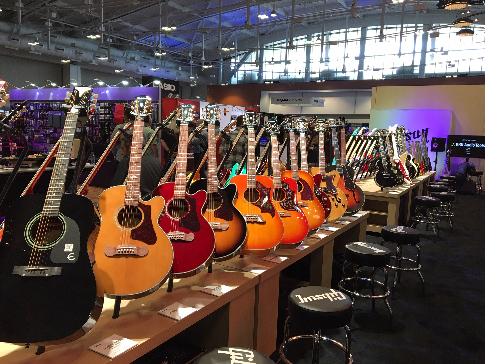 Winter Namm 2020.Epiphone Rocks Summer Namm